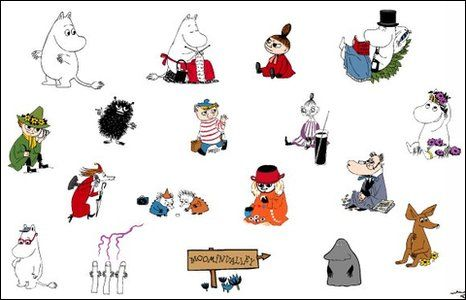 The moomins characters