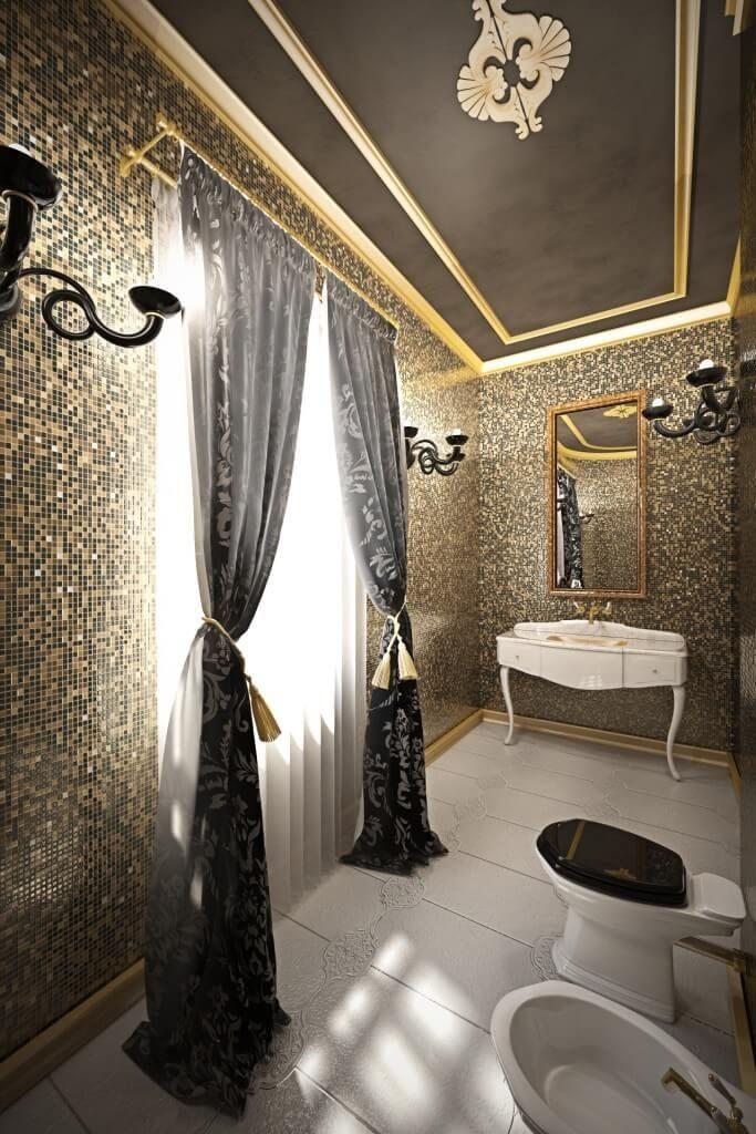 101 Custom Master Bathroom Design Ideas Photos Patterned