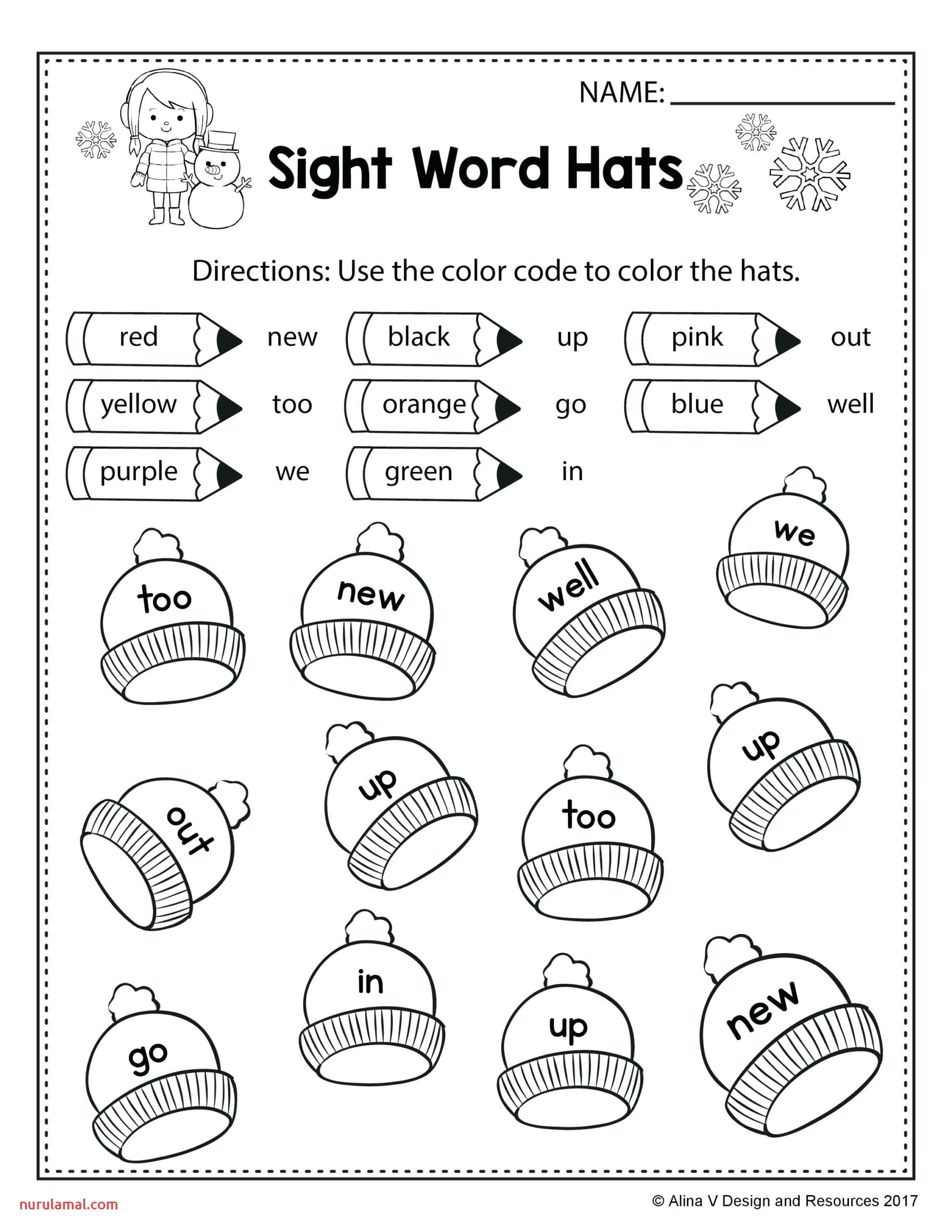 Preschool Worksheet Packet In