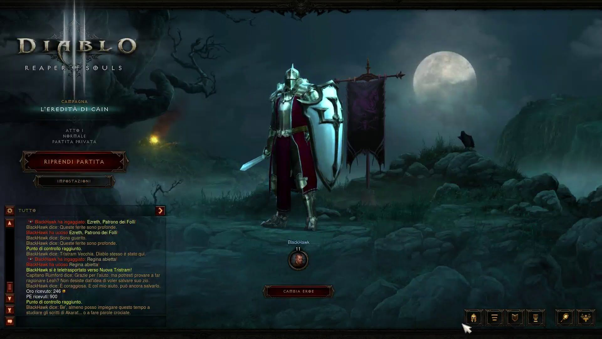 Diablo 3: Reaper of Souls - Atto 1 - 2. L' Eredità di Cain [HD]