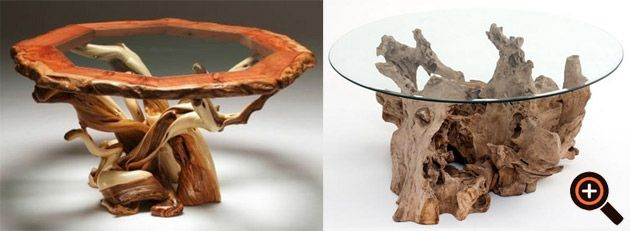 Designer Couchtisch – Möbel im Trend – Wohnzimmertisch aus Holz ...
