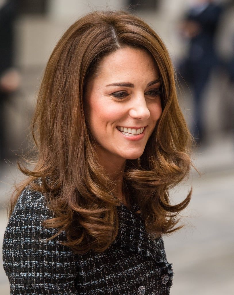 It S Back To Business For Kate Middleton Following Her Glamorous Baftas Appearance Kate Middleton Hair Hair Styles Hairstyle