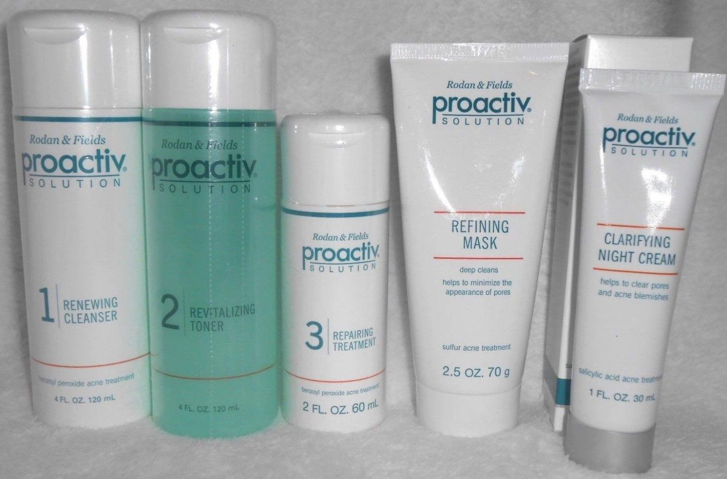 Proactiv For 60 days 5pc Kit (3pc+Mask+ Night Clarifying