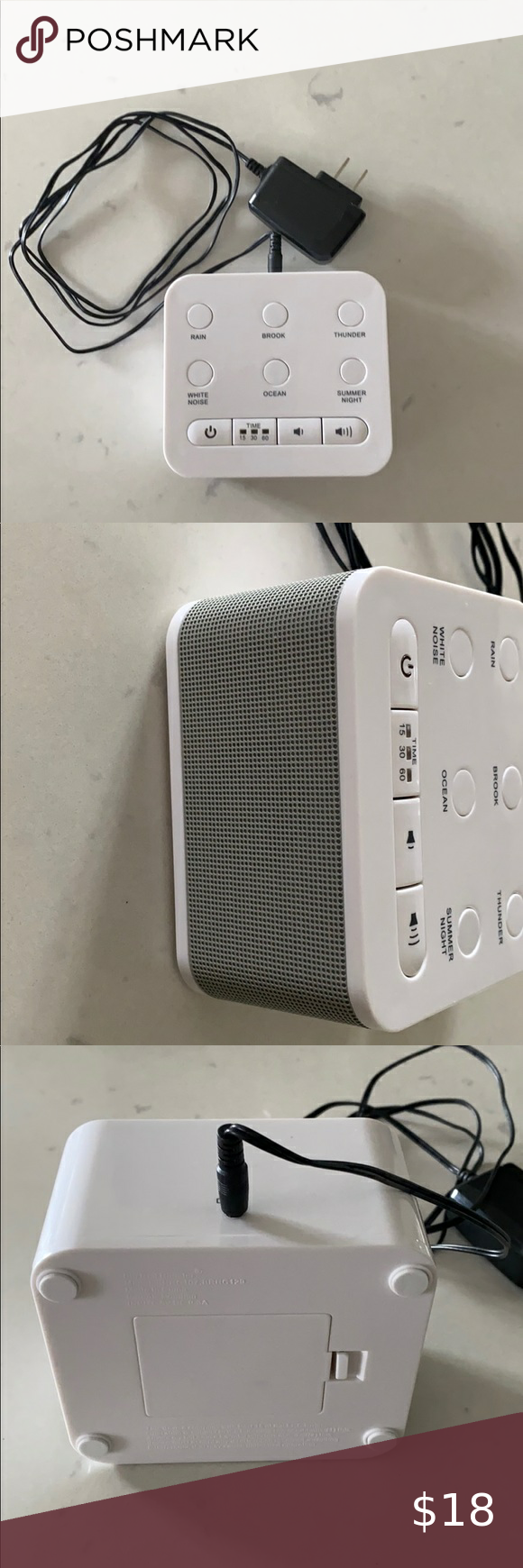 White noise sound machine plug in or battery in 2020 (With