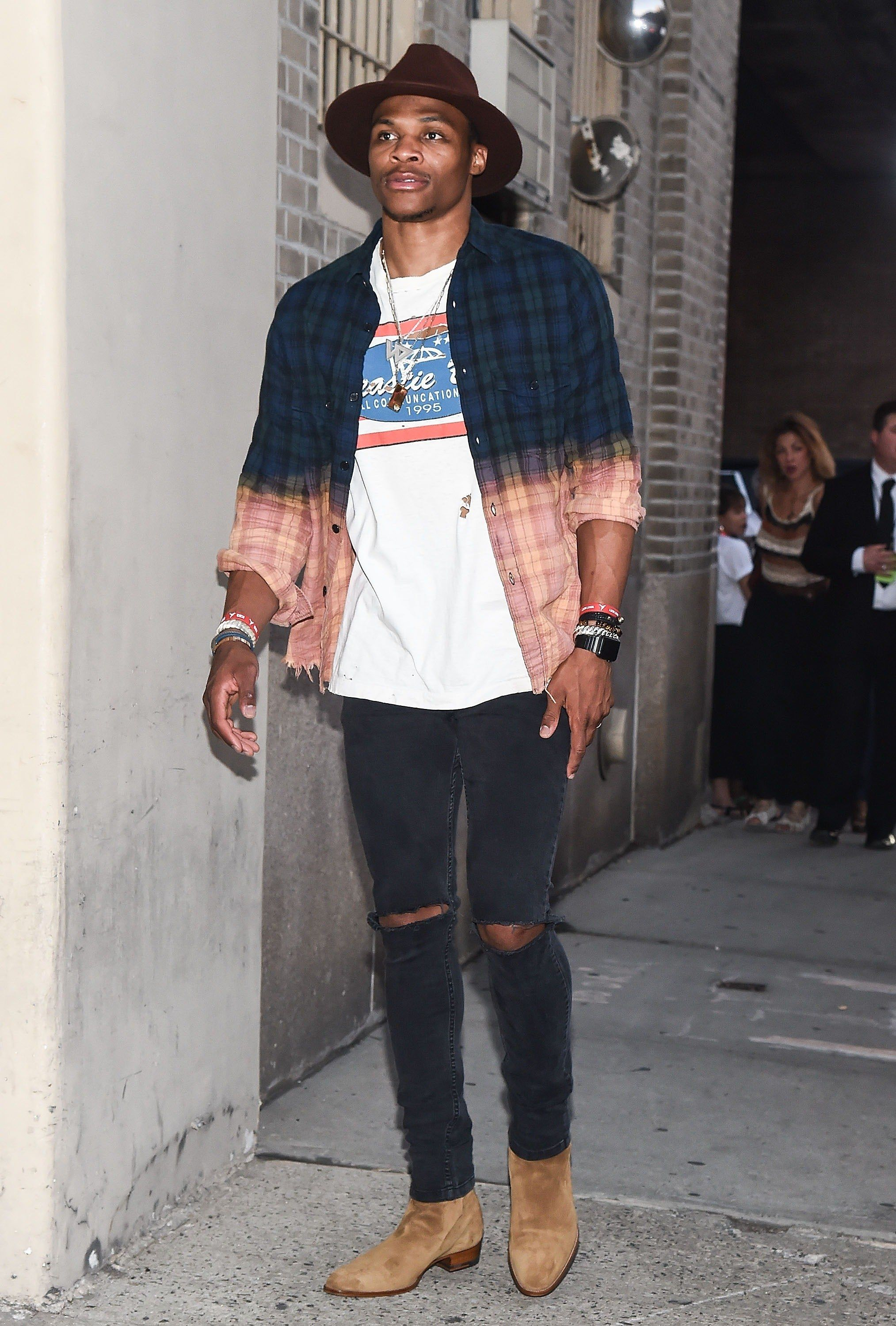 b8e8df42d0 17 Looks Only Russell Westbrook Could Pull Off Photos