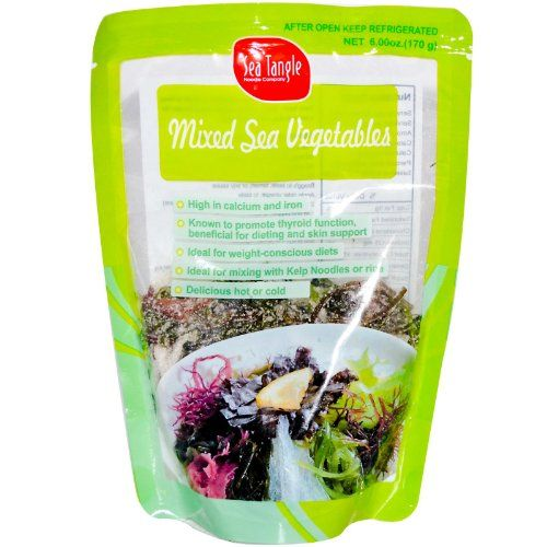 Save $7.51 on Sea Tangle Noodle Company, Mixed Sea Vegetables, 6 oz (170 g); only $6.99
