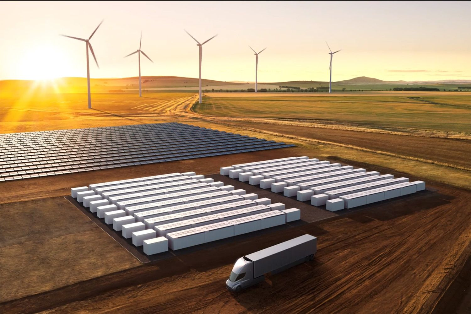 Tesla launches Megapack, a massive battery storage for