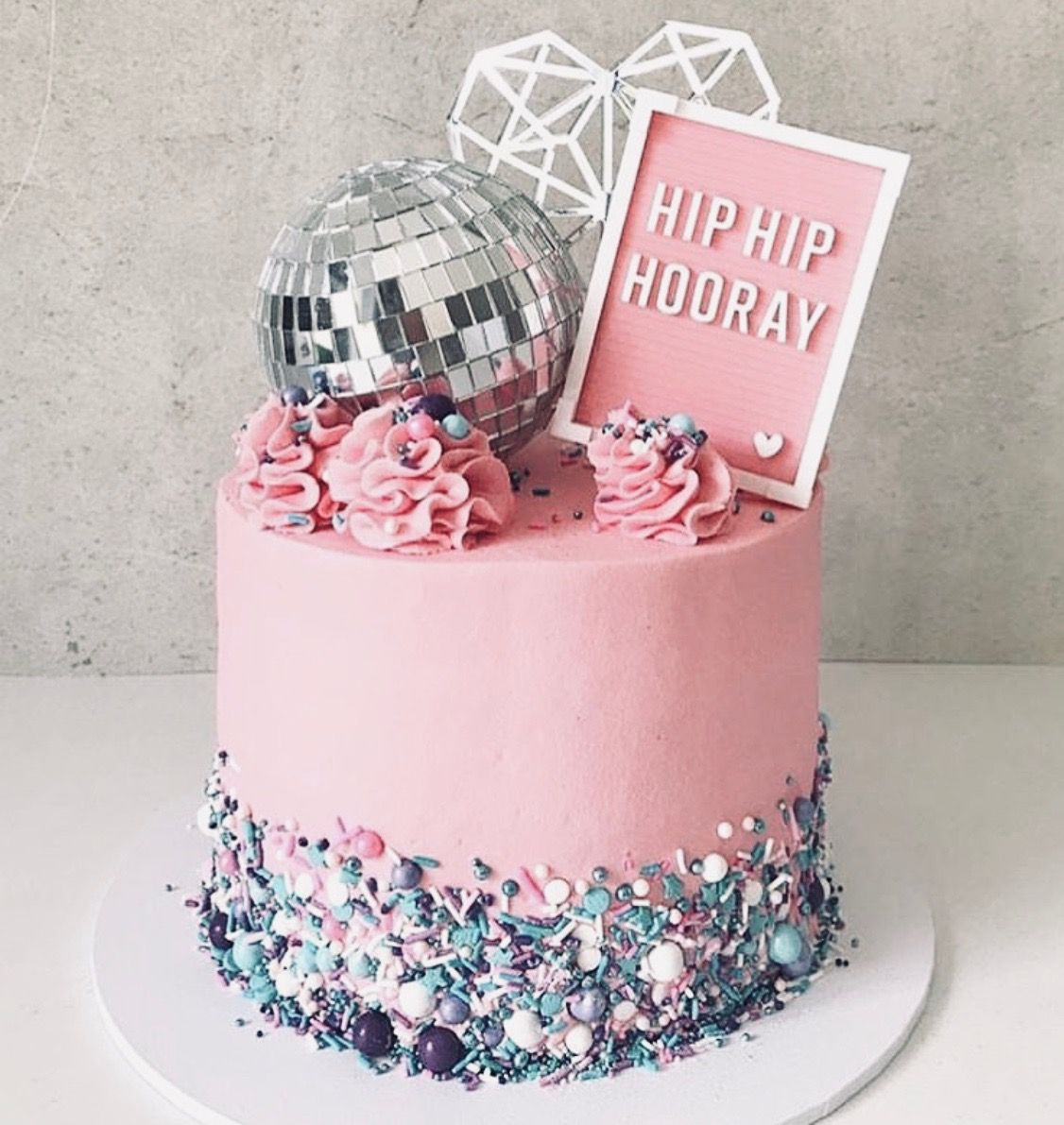 I Want This For My Next B Day Cake Disco Cake