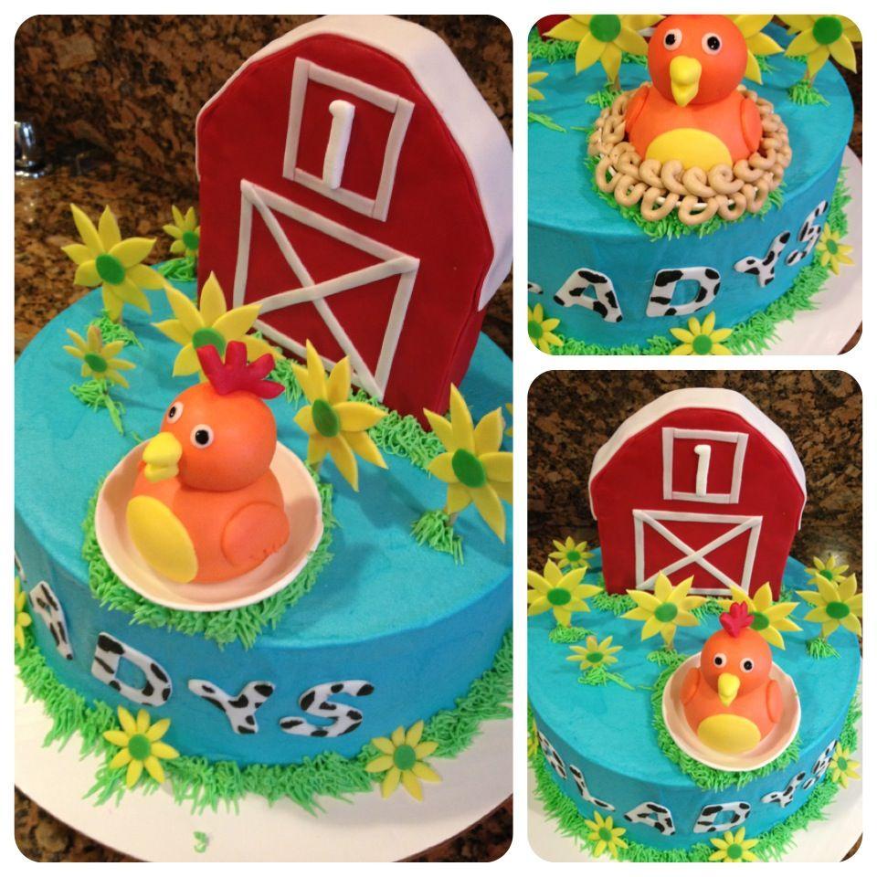 Chica Sprout Birthday Cake Cakepins Desert Pinterest