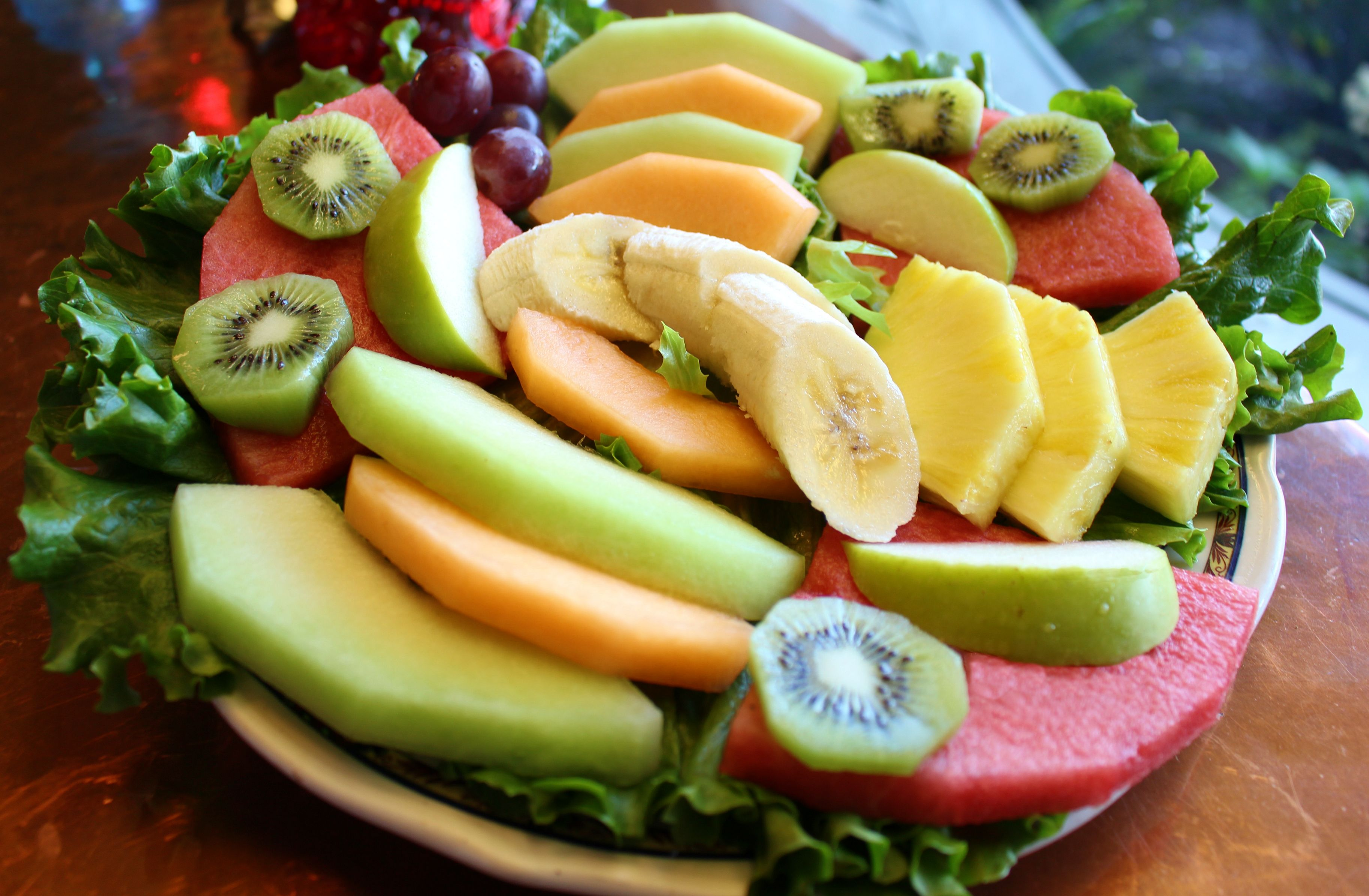 Miraculous Fresh Assorted Fruits Plate Try It With Your Choice Of Download Free Architecture Designs Rallybritishbridgeorg