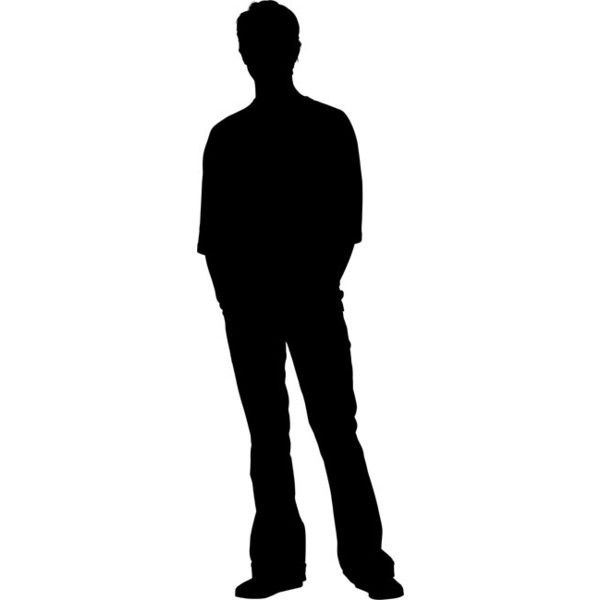 Teenage Boy Silhouette Stencil 56 Dkk Liked On Polyvore Featuring Silhouette Boy Silhouette Silhouette Stencil Silhouette
