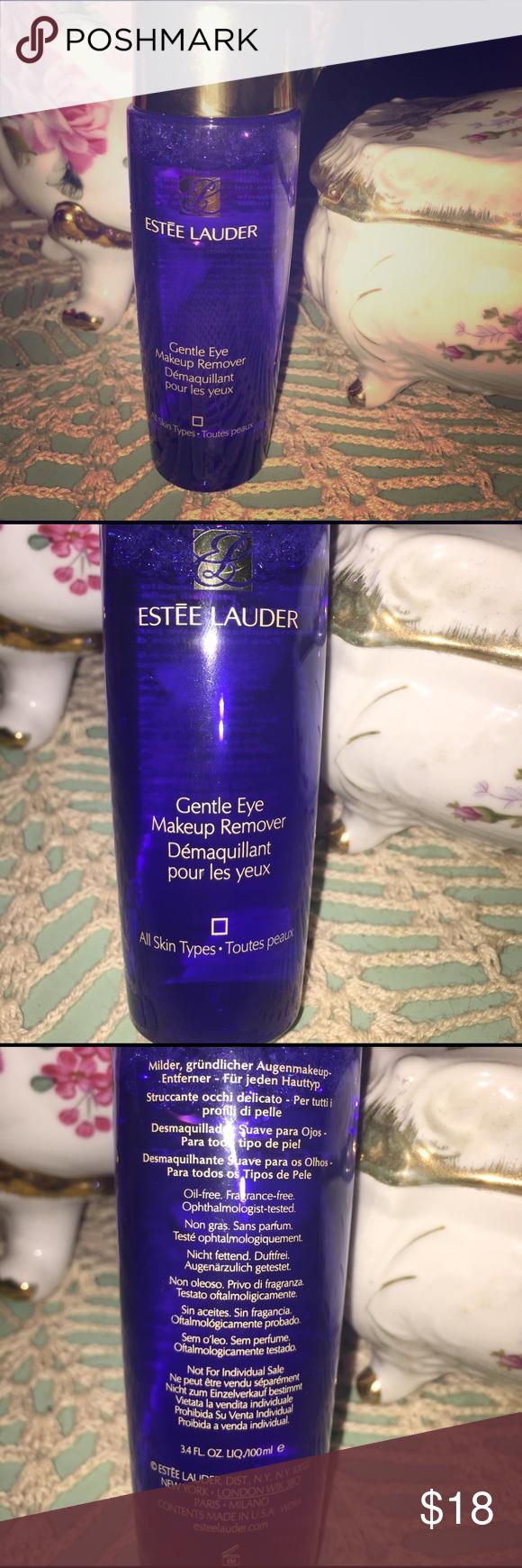 Estée Lauder gentle eye make up remover Eye makeup