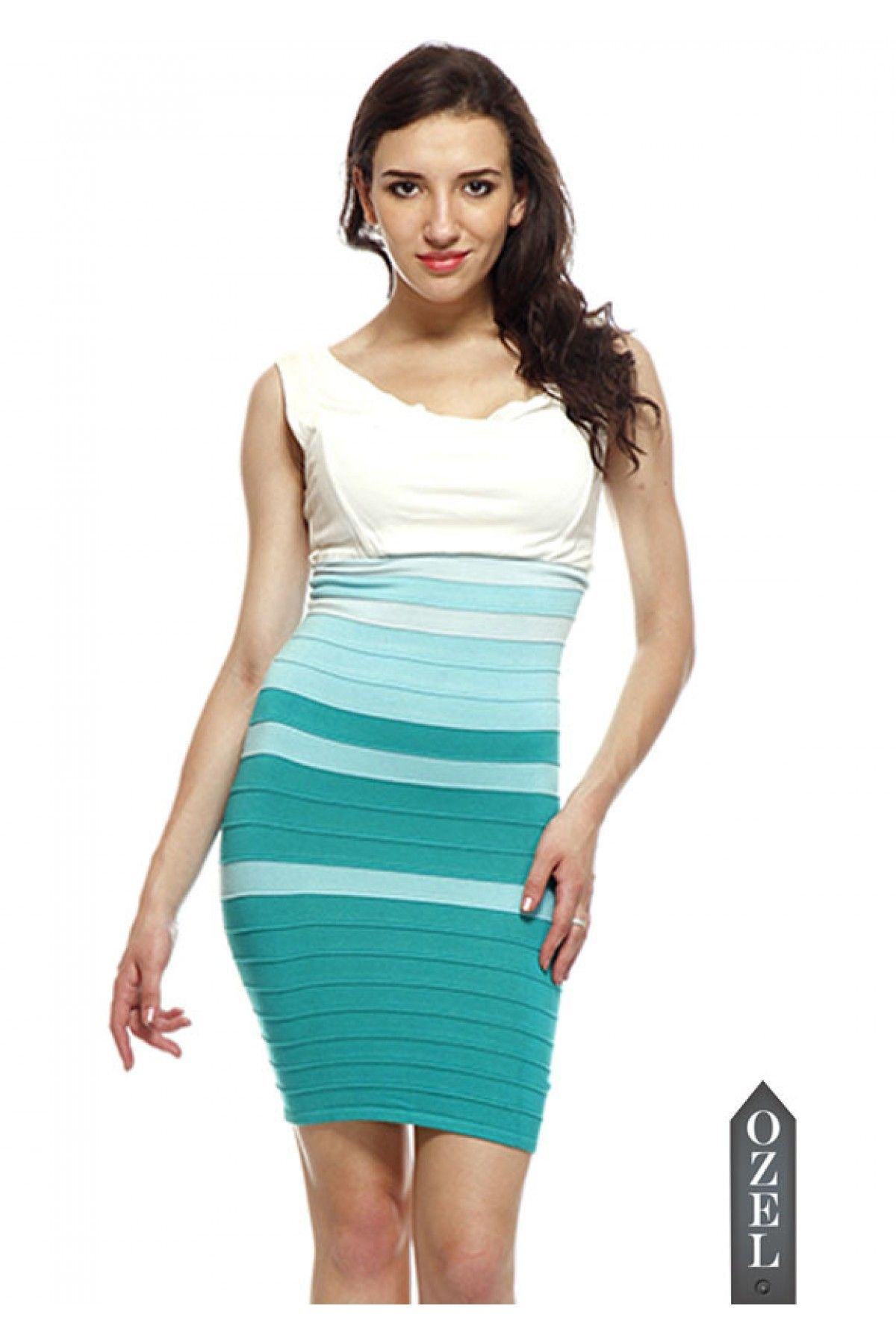 Two In One Bandage Dress by Ozel Studio | OZEL Studio Couture ...