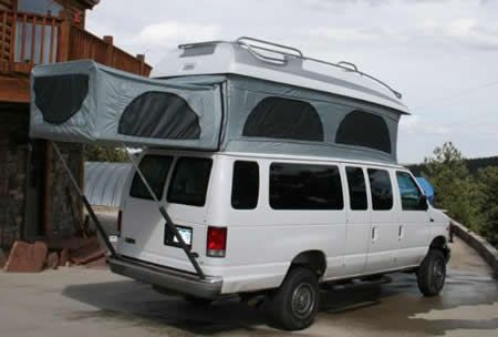 Mercedes Benz Sprinter Van Base Camp