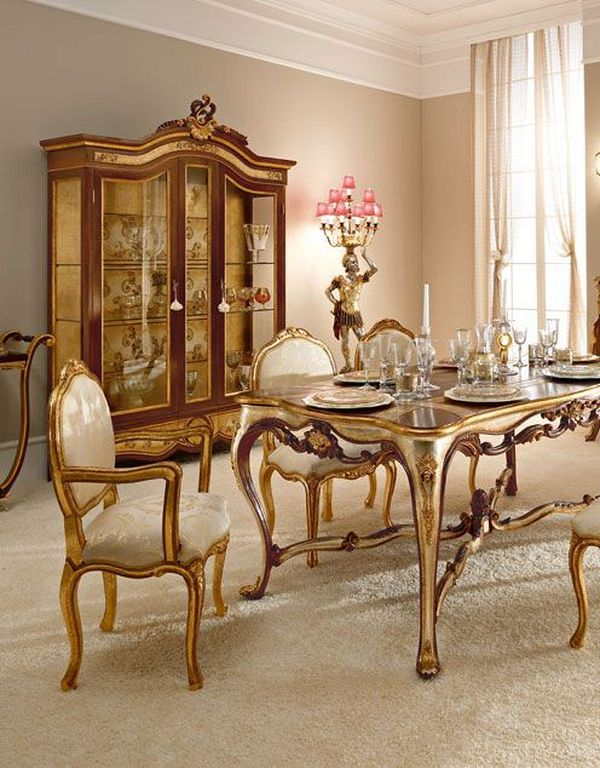 20+ Classic Italian Dining Room Design And Decor Ideas ...