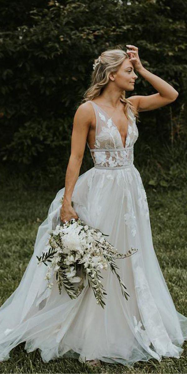 11+ See thru wedding dress ideas