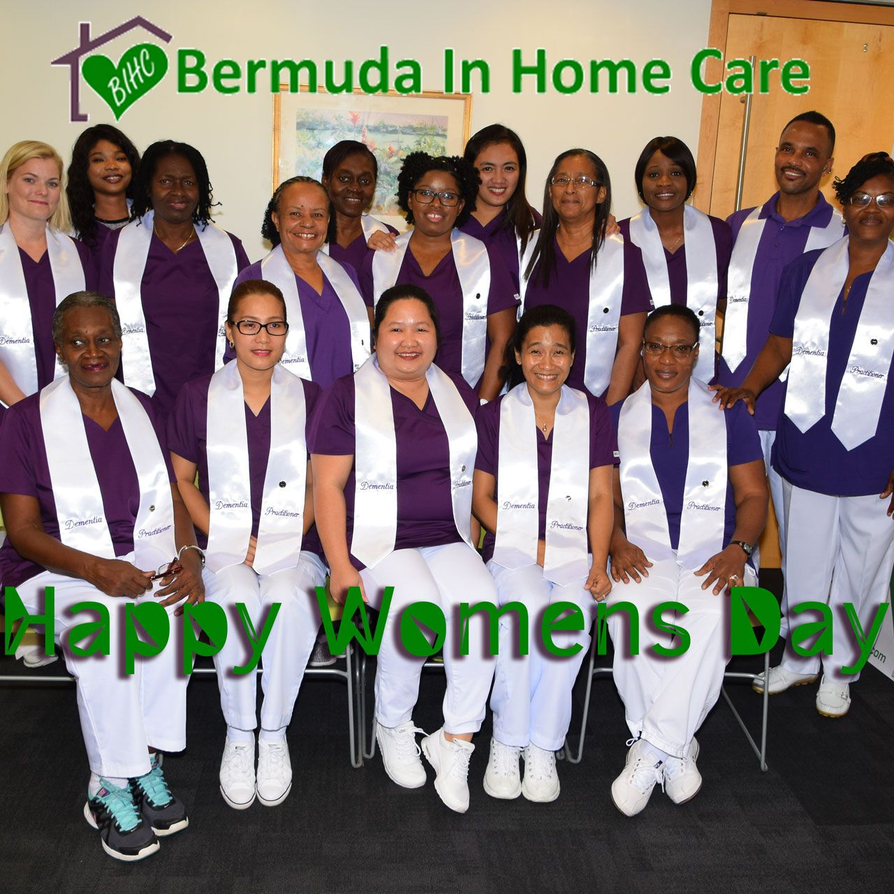 Bermuda in home care team of certified caregivers wishes