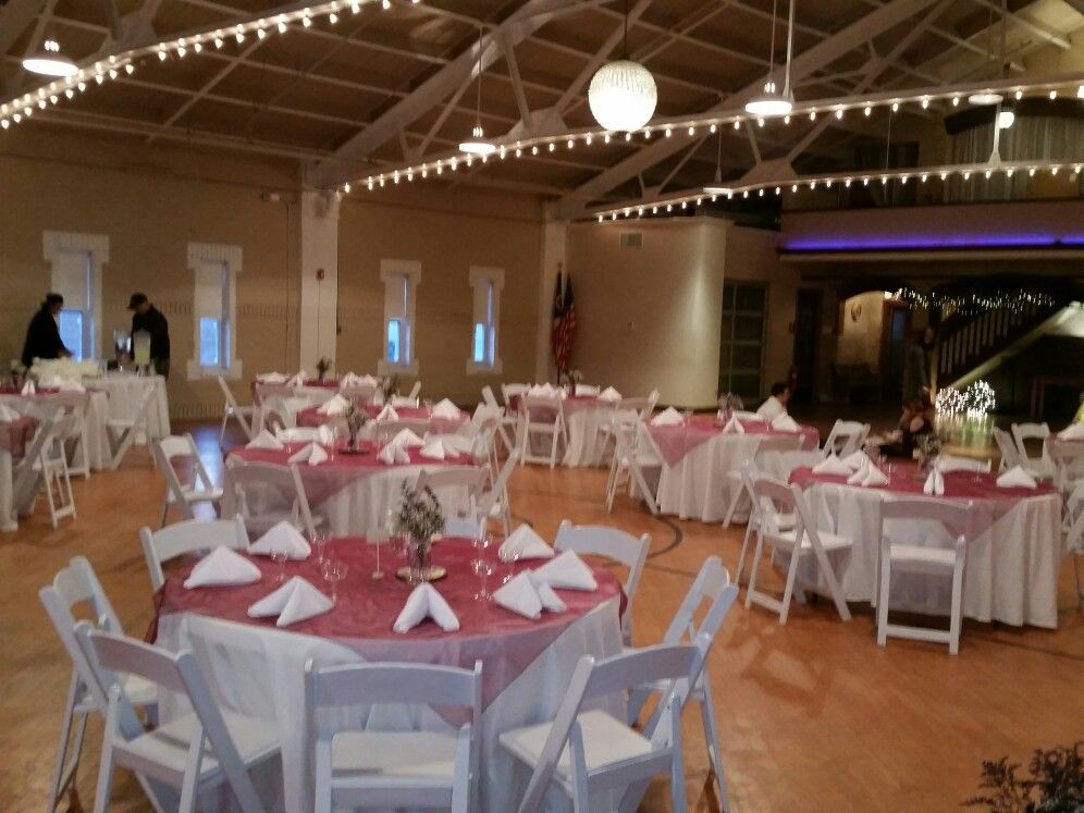 The Armory In Napoleon Ohio Upstairs Hall Party Event Wedding Dj Armory