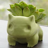 These 3D-Printed Bulbasaur Planters