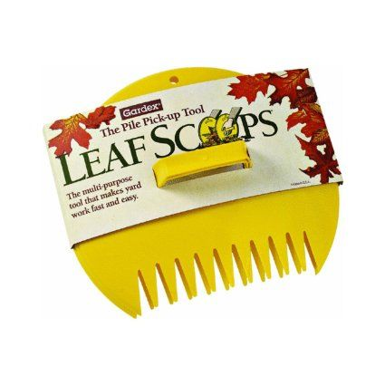 Amazon Com Gardex Ls 1000 Poly Leaf Scoops Yellow 400 x 300