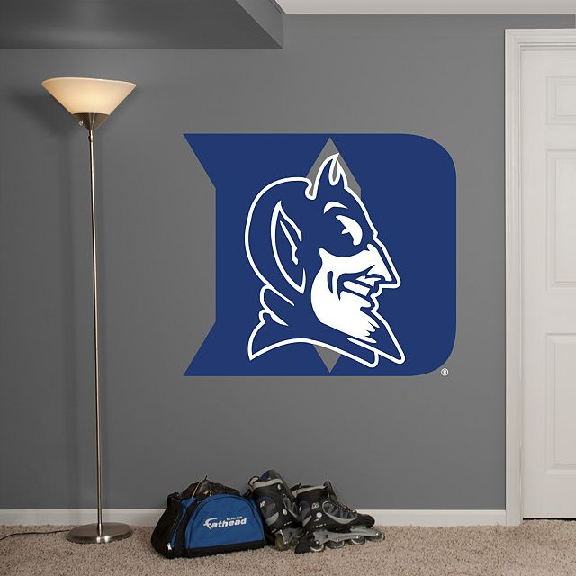 Duke Blue Devils Logo Wall Decal Shop Fathead For Duke Blue