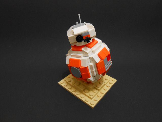 BB-8. Mini size :) LEGO microscale