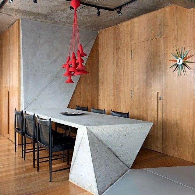 Concrete & Origami #design #architecture #interior