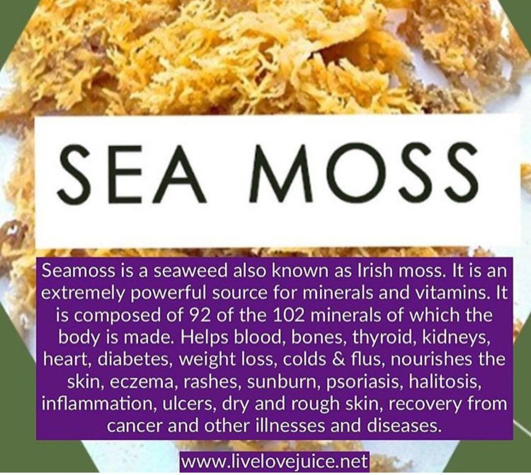 Pin By Nadine Spencer Jones On Fruit Green Smoothies Sea Moss Nourishment Food