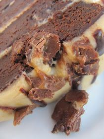 The Gorgeous Gourmet: Recipe : Chocolate Fudge Cake with Caramel Icing
