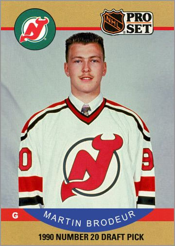 Martin Brodeur Rookie Card Pic That Stash Is Too Funny Lol Www