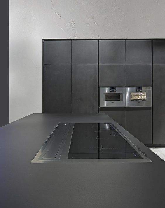 KÜCHE MIT KÜCHENINSEL ONE KÜCHE AUS ZEMENT RIFRA Home - küche mit küchenblock