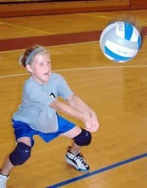 Girls Volleyball Clinic Volleyball Skills Kids Events Volleyball