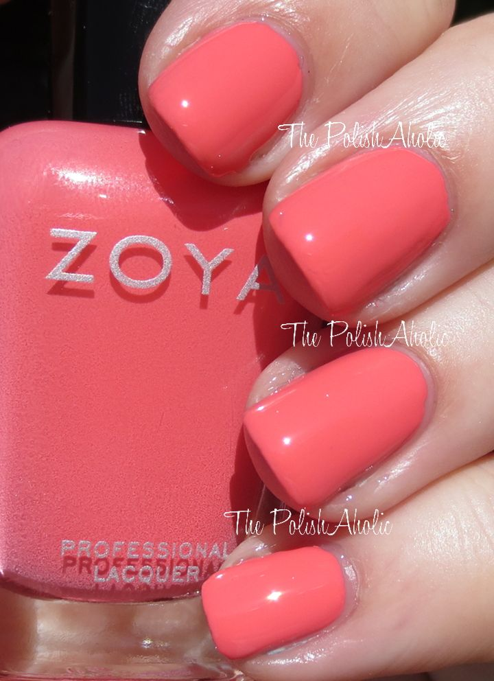 Wendy Zoya Summer 2014 Tickled Collection Swatches Zoya Nail