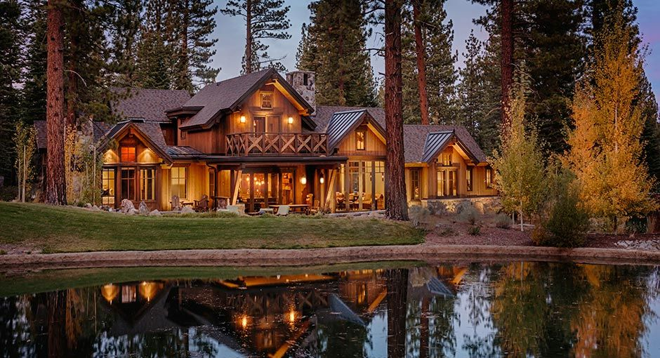 Beautiful cabins image by Martis Camp on Architecture