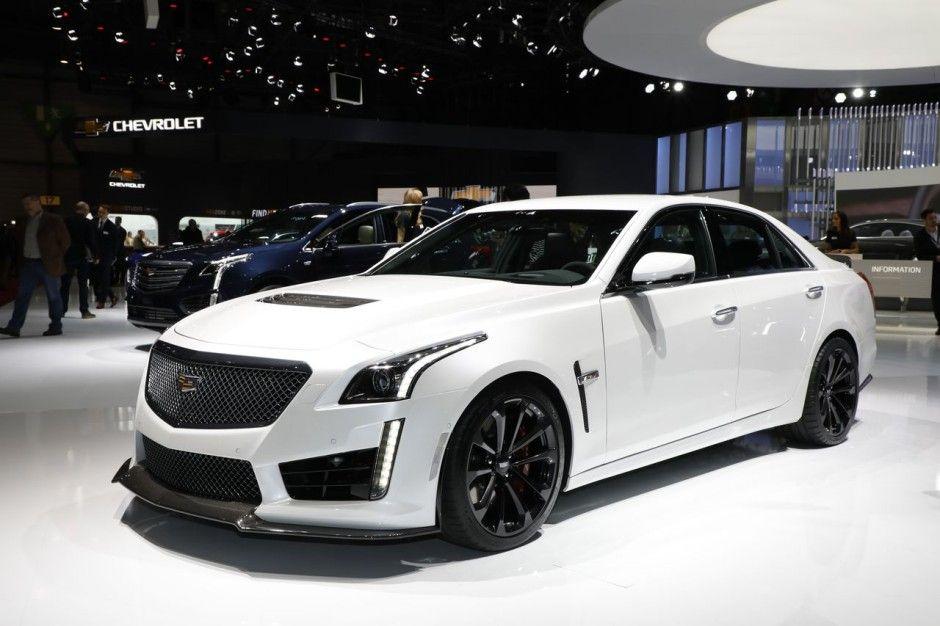 3 4 Avant Cadillac Cts V Black Edition Au Salon De Geneve 2017