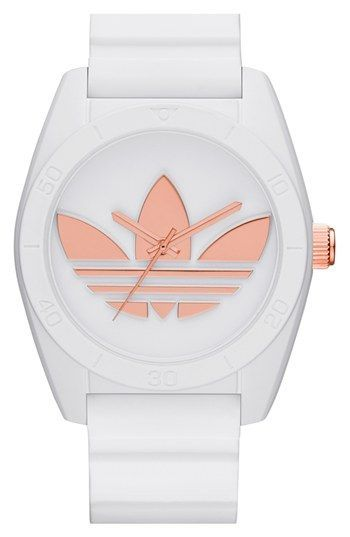f81e266b89f adidas Originals 'Santiago' Silicone Strap Watch, 42mm available at  #Nordstrom