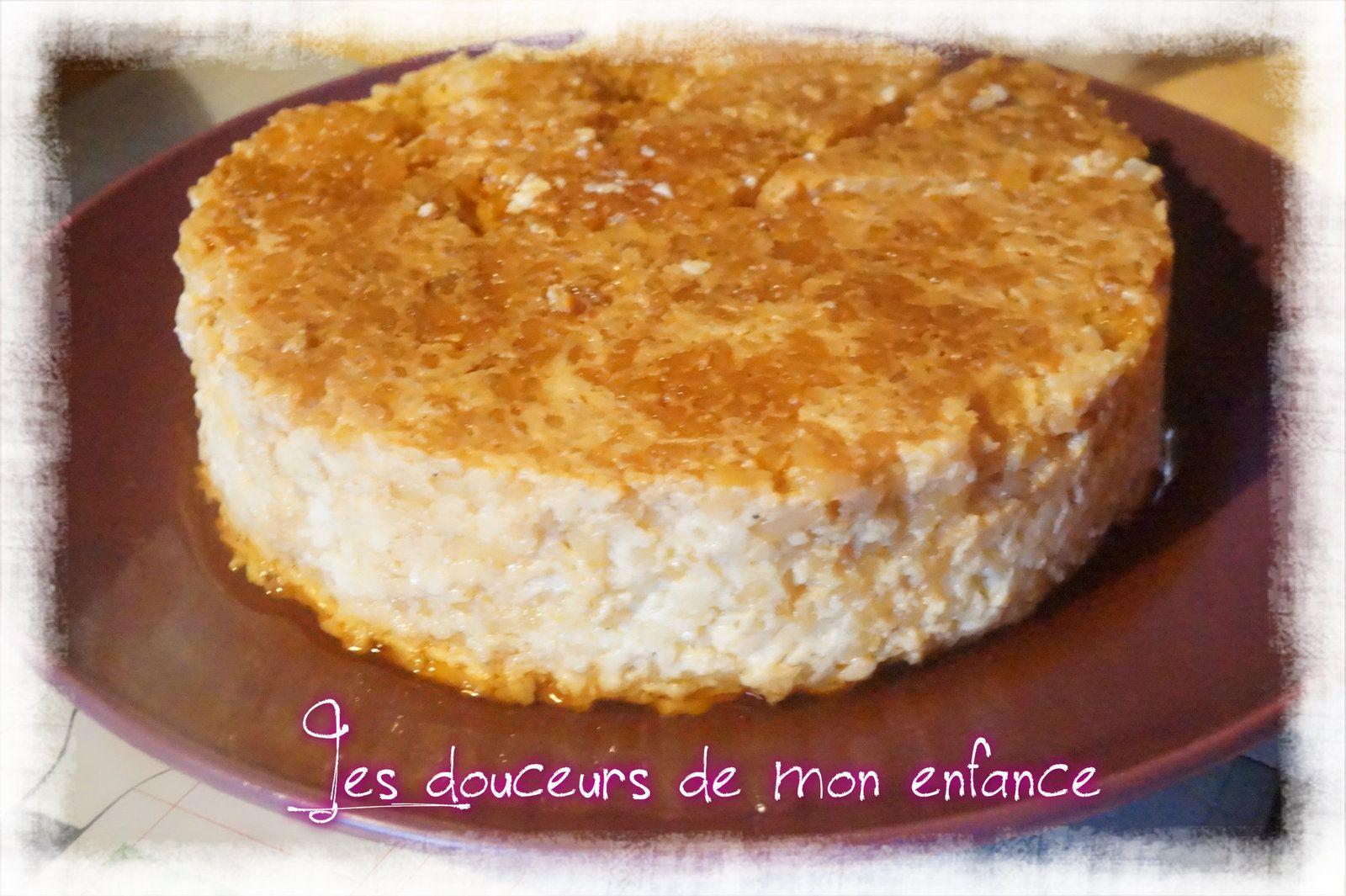 Gateau De Riz Au Cookeo Les Douceurs De Mon Enfance Gateau De Riz Recette Cookeo Dessert Cookeo Recette