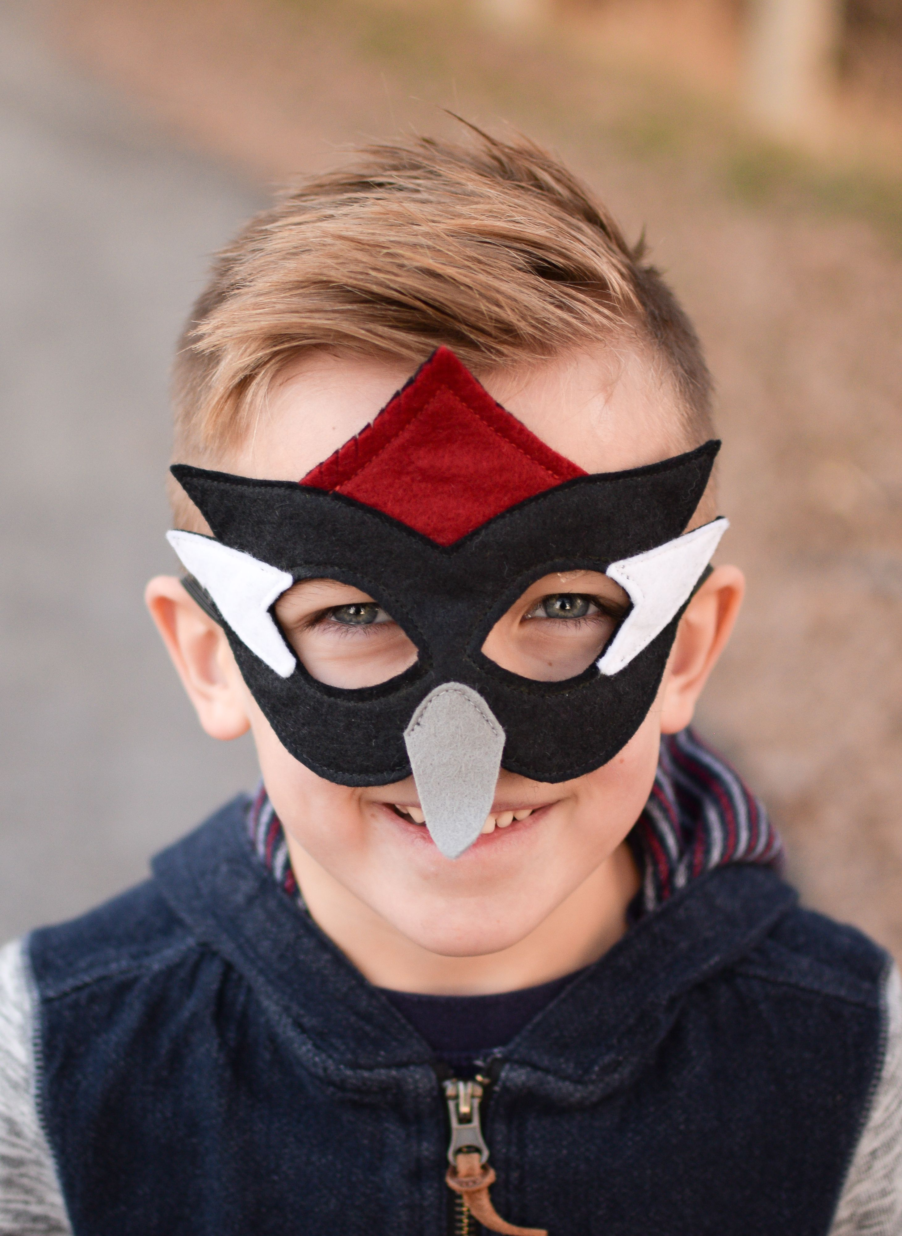 Woodpecker Mask | Bird costume, Woodpeckers and Costume accessories