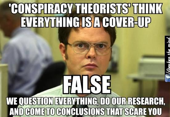 d95a0f1778d632357760fe83fff2adc8 the cia created the 'conspiracy theory' meme to shut down the