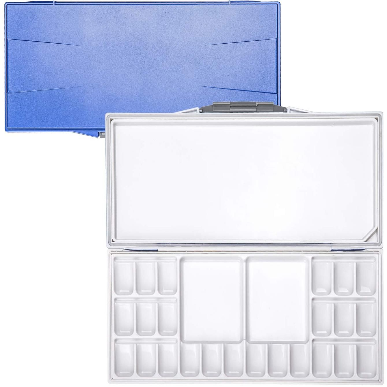 Watercolor Airtight Leak Proof Portable Palette 24 Well Mixing