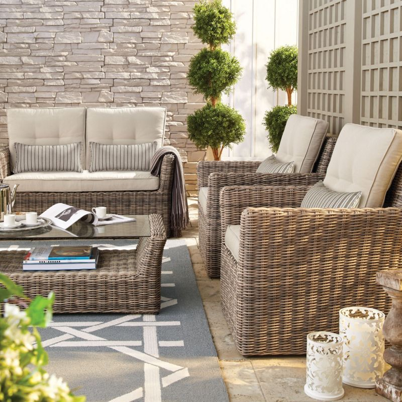 Whole Home®/MD Marbella Collection 4-Piece Deep-Seating ...