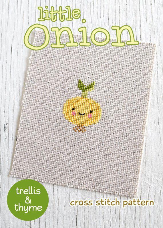 Cross Stitch Pattern Onions