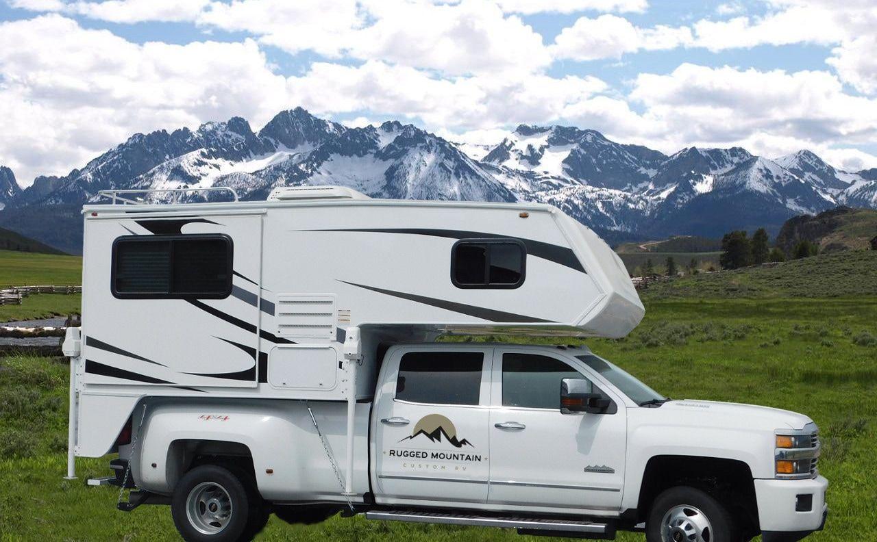 Very Cool Truck Camper Truck Camper Cool Trucks Recreational