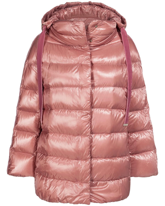 Daunenjacke Fur Damen Von Herno In Altrosa Das Italienische Premium Label Ist Seit Jahren Bekannt Fur Seine Besonders Leichten Daunenjacken Daunenjacke Jacken