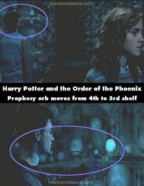 Harry Potter Book Mistakes ~ Noticeable mistakes in the harry potter movies