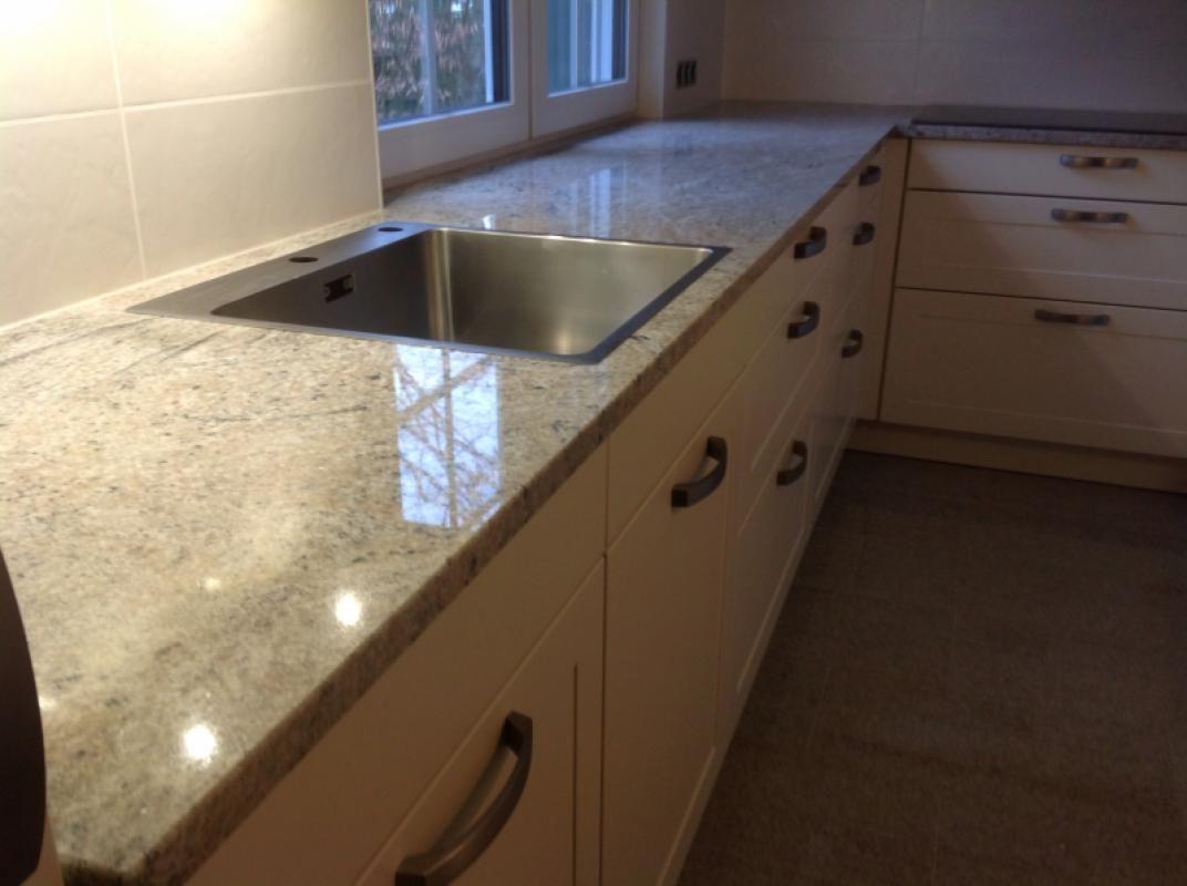 Cielo Ivory Granit Arbeitsplatte Und Tischplatte Was Sagen Sie Zu Unseren Neuesten Projekt Http Www Maasgmbh Com Aktuelle Wuppe Kitchen Home Decor Decor