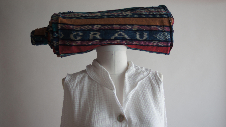GRAU guatemalan fabric and linen top