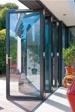 aluminum bifold door | window | Folding doors, Patio doors, Doors on