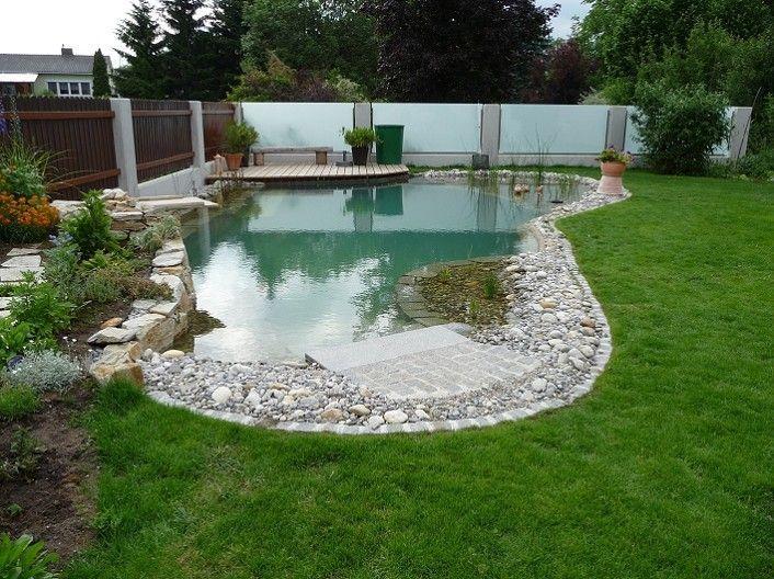Naturpool Natural Pools Pinterest Swimming pools, Gardens and