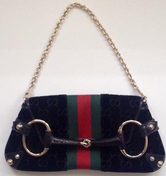 9c513cfc1 Gucci Rare Discontinued Tom Ford Velvet Monogram Horsebit Shoulder Bag. Get  one of the hottest styles of the season! The Gucci Rare Discontinued Tom  Ford ...